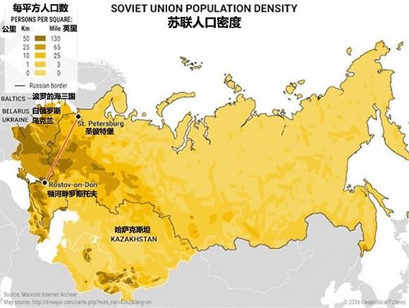 带你看懂俄罗斯政治军事经济战略的10张地图