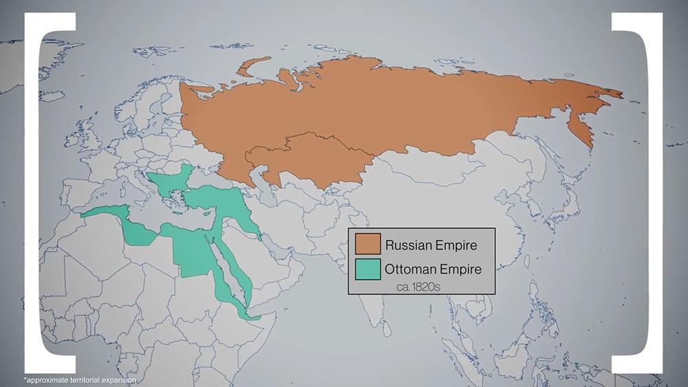 """俄罗斯和土耳其那些""""爱恨纠纷"""""""